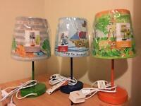 Children table lamp