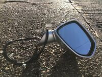 2002 Honda jazz drivers side wing mirror silver