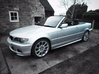 M Sport BMW 325 Ci Cabriolet, MOT 12 Mth. Winter Bargain only £3200 P/X Welcome