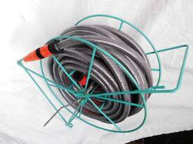 20 Metre 19mm 3/4 inch Garden Hose Set & Reel