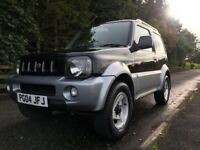 2004 SUZUKI JIMNY 1.3L *AUTOMATIC* BLACK/SILVER 4X4 - IDEAL FIRST CAR - GET READY FOR WINTER!