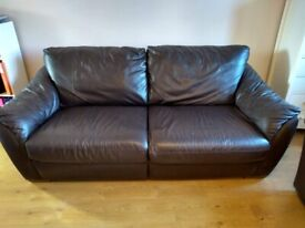Leather Sofa bed-good quality Leather