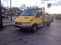 IVECO Daily Tipper Van with ramp