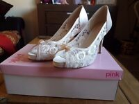 Brand new bridal shoes still in box
