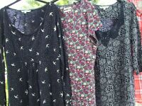 Women Clothes, Seasalt and Fat Face Tops - 3 for