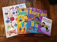 4 Large Activity Books. Over 200 Activities To Do And Make!