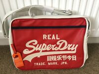 BRAND NEW UNUSED GENUINE Superdry Messenger Bag.