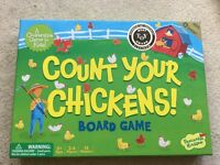Count Your Chickens - encourage co-operative play. Excellent condition.