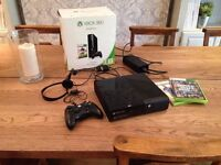 Xbox 360 console 500GB complete with, remote control, games all leads and box in VGC