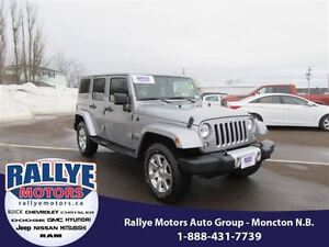 2014 Jeep Wrangler Unlimited Sahara! 4x4! Alloy! ONLY 44K! Hitch