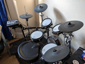 Roland full-set electronic drums