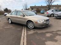 VOLVO S80 2.5 PETROL- AUTOMATIC GEARBOX- MOT TILL JUNE 2018 (no advisory)- ready to drive away