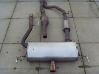 **CORSA VXR FULL EXHAUST SYSTEM AND ORIGINAL SPRINGS FOR SALE AND INTERCOOLER AND PIPES** CHEAP ASAP