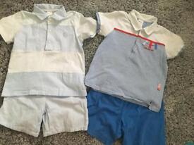 2x tutto piccolo shirts and tshirt sets age 4
