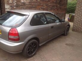 Civic EJ9/EK shape 1.4i EX-SHOWCAR ONLY 75k miles