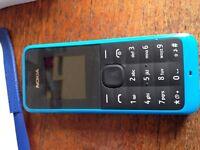 Nokia 105 - Blue - UNLOCKED - like new
