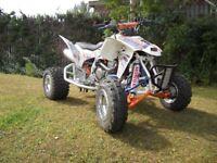 HONDA TRX 450R ROAD LEGAL QUAD BIKE