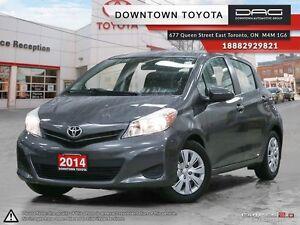 2014 Toyota Yaris LE, 1 OWNER, CERTIFIED, 5 DR HATCHBACK