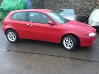 Alfa Romeo 147 1.6L TS with new 12 months MOT