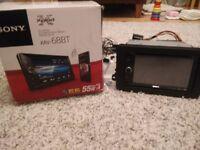 SONY XAV 68BT CD/DVD/USB/RADIO/BLUETOOTH Car Player