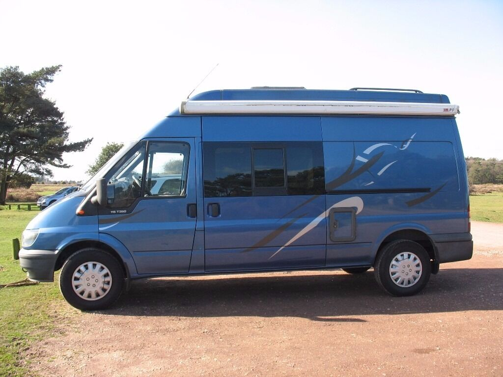 Ford Transit Diesel LWB Hi Top High Quality Camper Van Conversion 2006 Only 145000