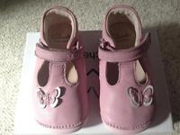 Clarks pink first shoes worn once