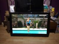 **PANASONIC TX-P42X20B 42 INCH HD TV WITH FREEVIEW**HDMI**NO OFFERS**COMES WITH WALL BRACKET**