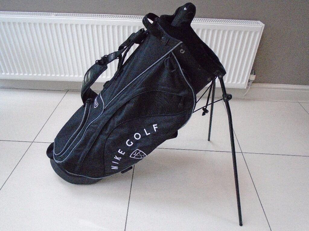 Nike Slingshot Golf Stand Bag Black Hardly Used