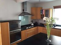 Wood kitchen for sale inc appliances.