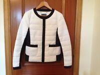 Karen Millen Ladies Black & White Jacket Size 12