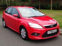 2009 (58 reg) Ford Focus 1.6 TDCi Econetic DPF Diesel, Manual, 5dr Hatchback
