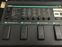 Korg A4 bass effects pedal