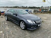 Mercedess 2010 e350 coupe 67430 miles very good condition Sat Nav