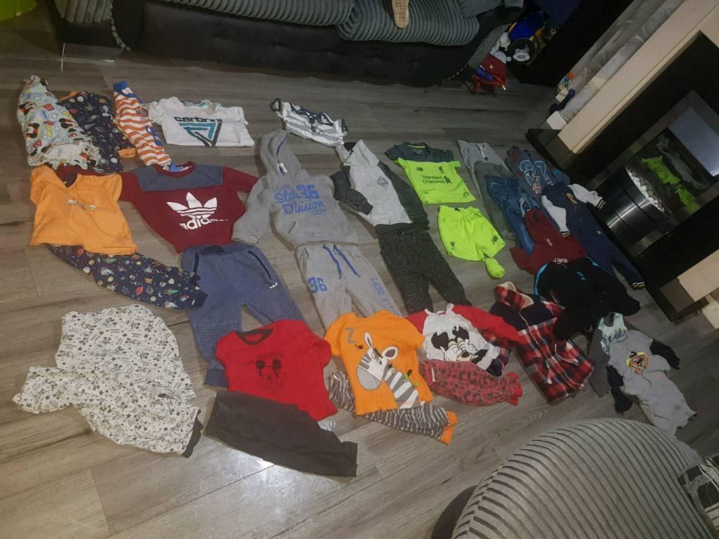 684af38d7 Boys aged 18 - 24 month BUNDLE addidas etc