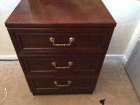 Bed Side, 3 Level Drawer Furniture, Excellent Condition