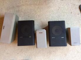 Sony and Jami sound sound speakers