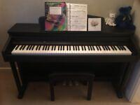Second Hand Axus Digital AXD2BK Digital Piano Black with Piano Stool - Original Price £499 Now £200