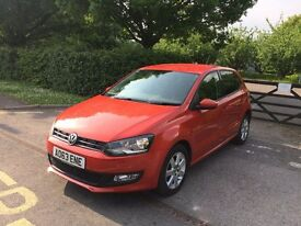 63 PLATE VOLKSWAGEN POLO MATCH ORANGE CAT D 54,000 MILES EXCELLENT CONDITION