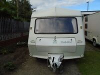 Abi Jubilee Pioneer 1994 - 5 berth Touring Caravan with Trio Mexico Full Awning