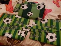 Boys football bedding... etc