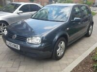 VW GOLF 1.6 2004 LOW MILIEGE 97K