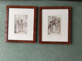 2 Hugh Thompson prints