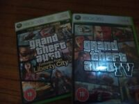 2 x GTA Games for Xbox 360