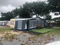5 berth caravan and awning