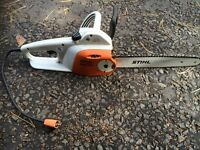 Stihl electric chain saw MSE 140 C