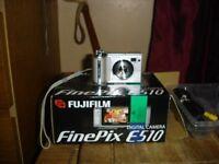 FUJIFILM FINEPIX E510 DIGITAL CAMERA