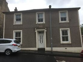Substantial & Quirky 3/4 Bedroom (Doubles) Ground Floor Flat in Stewarton. Viewing a must!