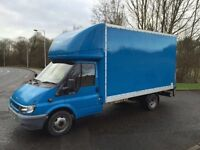 FORD TRANSIT 350 LWB TD LUTON BOX WITH WORKING TAIL LIFT LOW MILES LONG MOT NOT TO BE MISSED