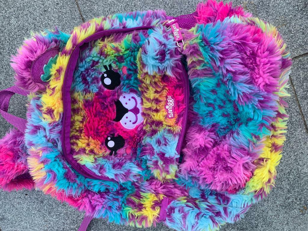 Smiggle and Claire's Accessories back pack
