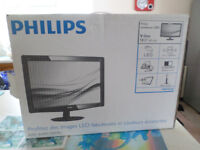 philips 18.5inch computer moniter with stereo audio